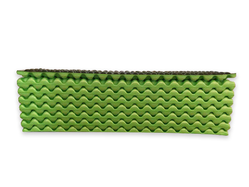 加厚蛋槽折叠防潮垫(浅绿色)