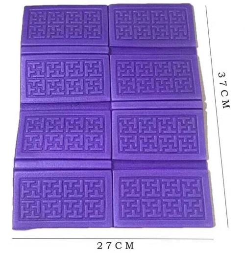 小隔湿垫紫色
